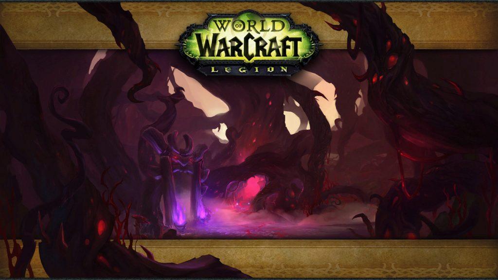 wow legion darkheart thicket loading screen