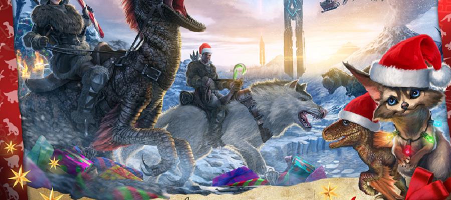 ARK: Survival Evolved – Patch 253 bringt Raptor Claus, neue Dinos und Unterwasserhöhlen