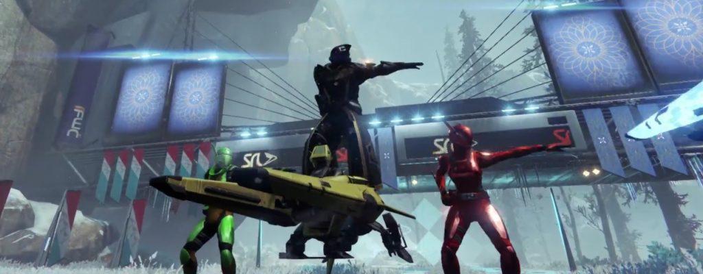 """Destiny: Launch-Trailer zu """"Der Anbruch"""" – Die Zeit der Geschenke und Spiele bricht an"""