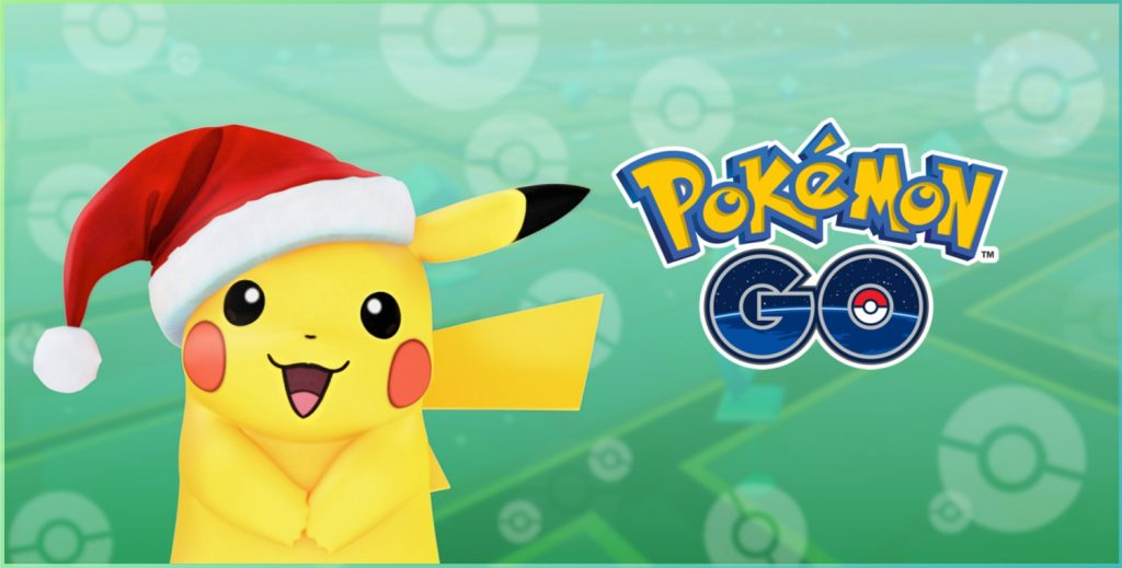 Pokémon GO Pikachu Weihnchten