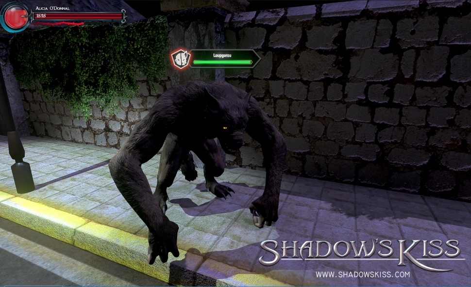 shadows kiss werwolf