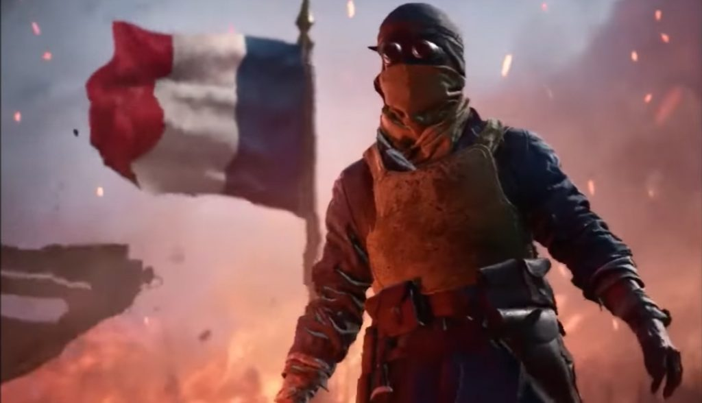 Battlefield 1 Soldat Frankreich