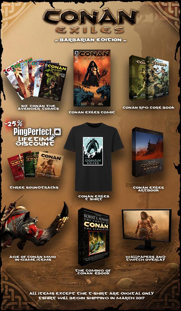 Conan Exiles Barbarian Edition