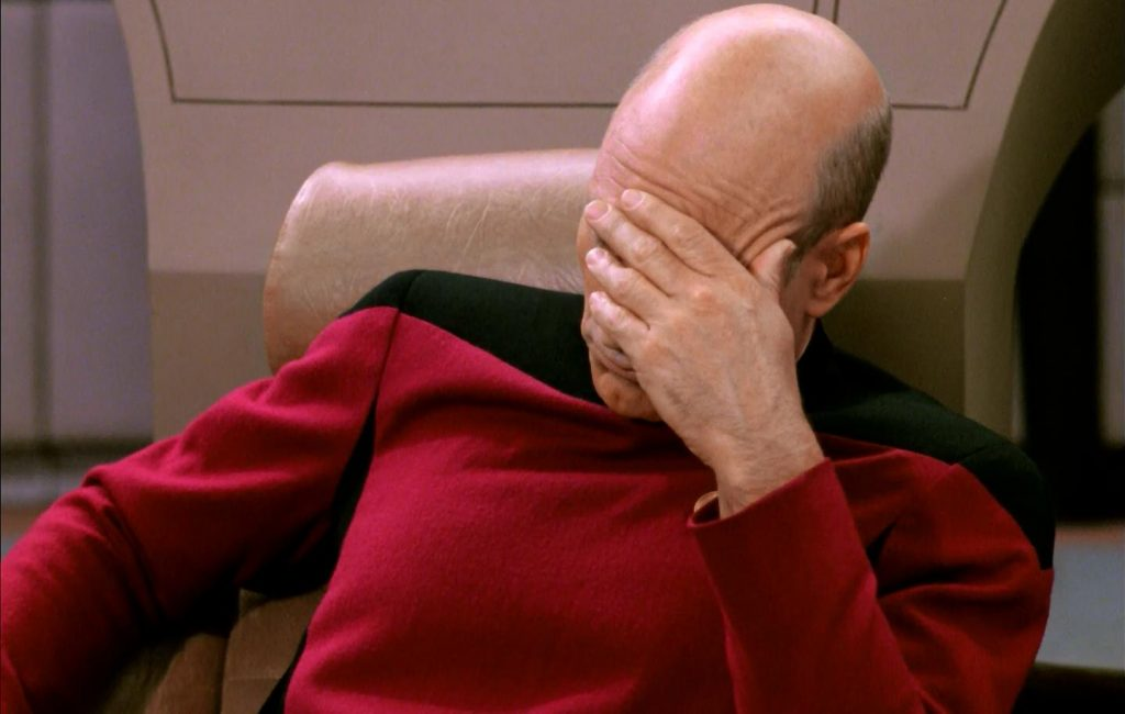 Cpt Picard Facepalm