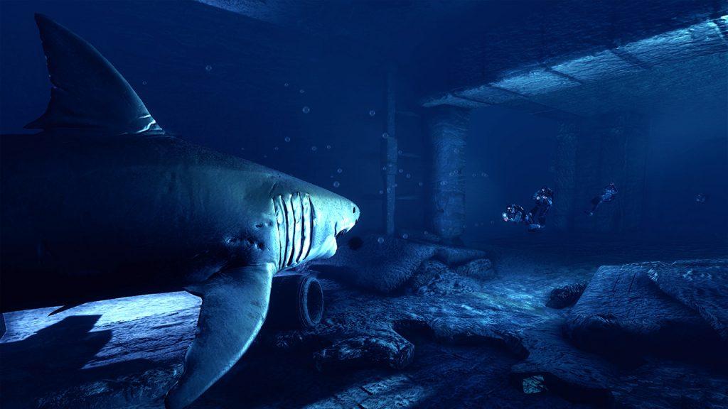 Depth Hai und Taucher Screenshot