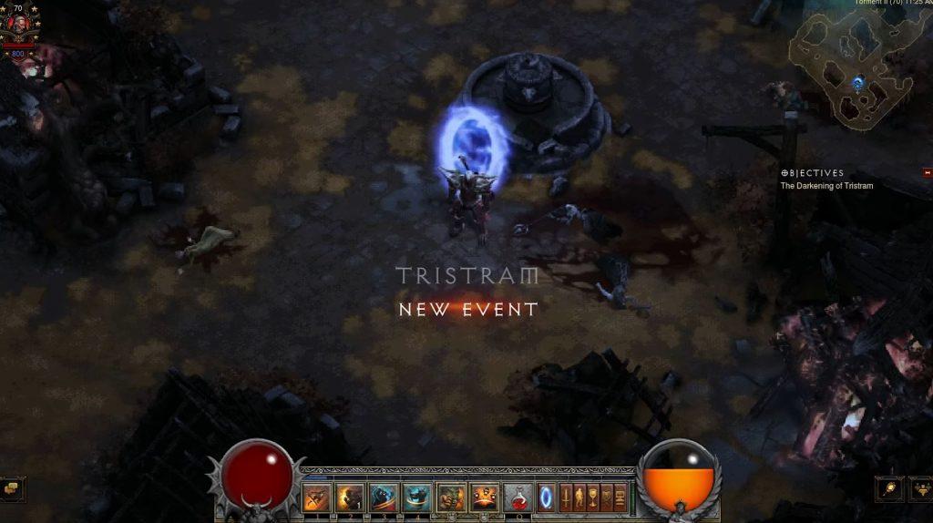 Diablo 3 Finsternis in Tristram
