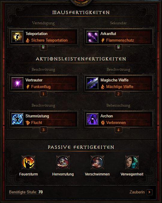 Diablo  Season  Archon Build