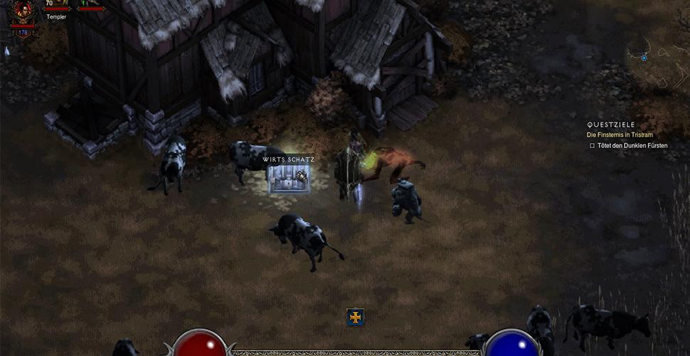 Diablo 3 Kronkalb