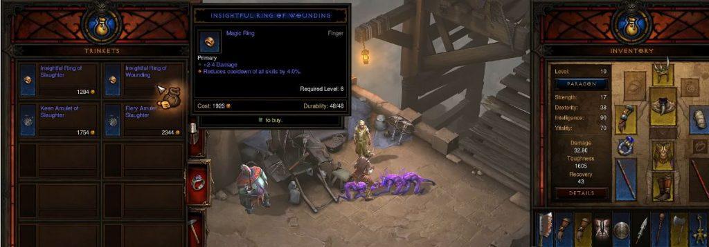 Diablo 3 Ring Plus Schaden Leveln