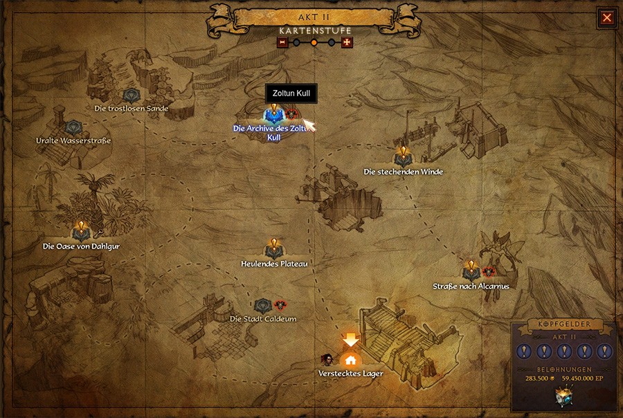 Diablo 3 Kopfgeld Boss