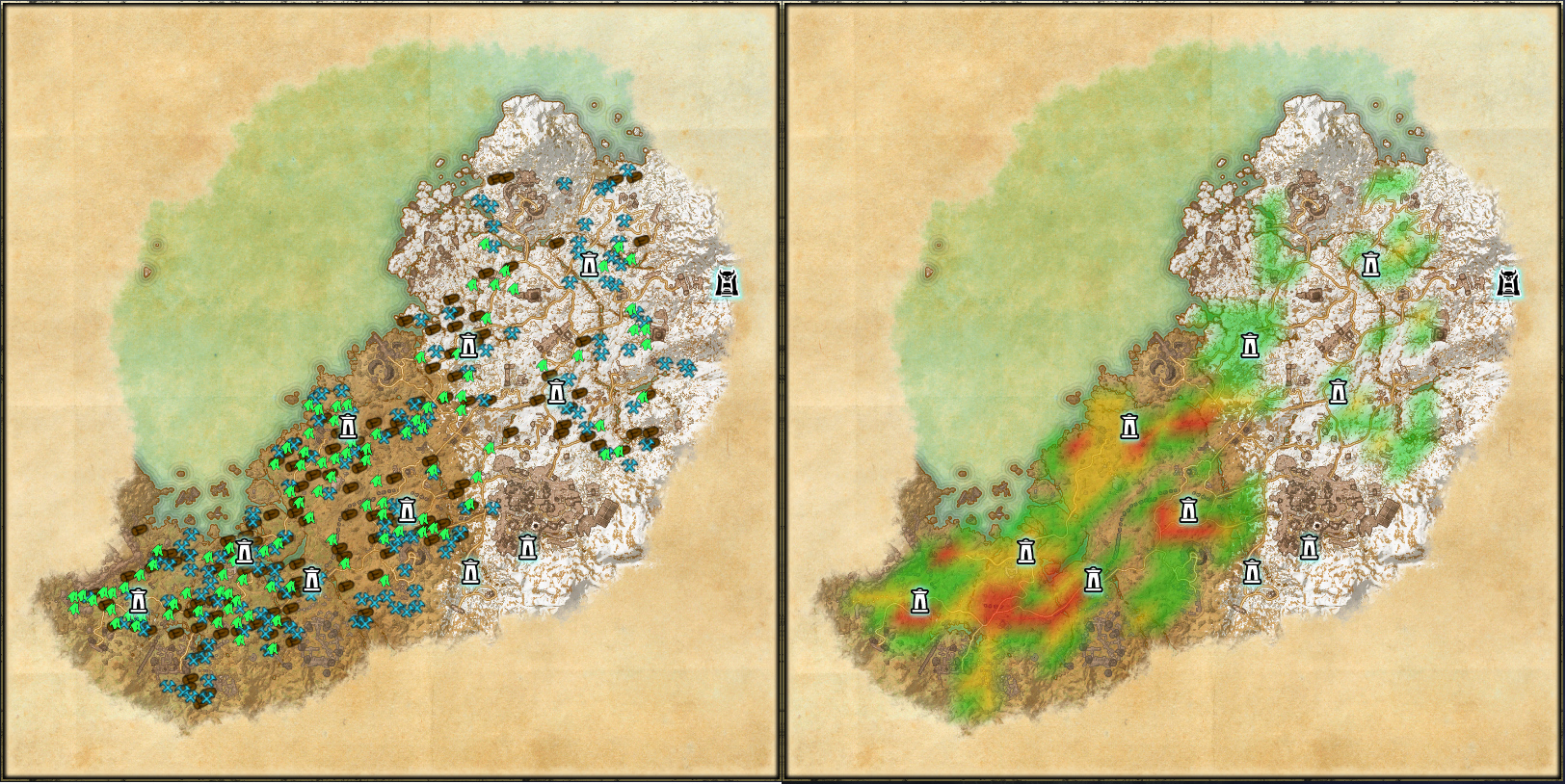 ESO Addons HarvestMap