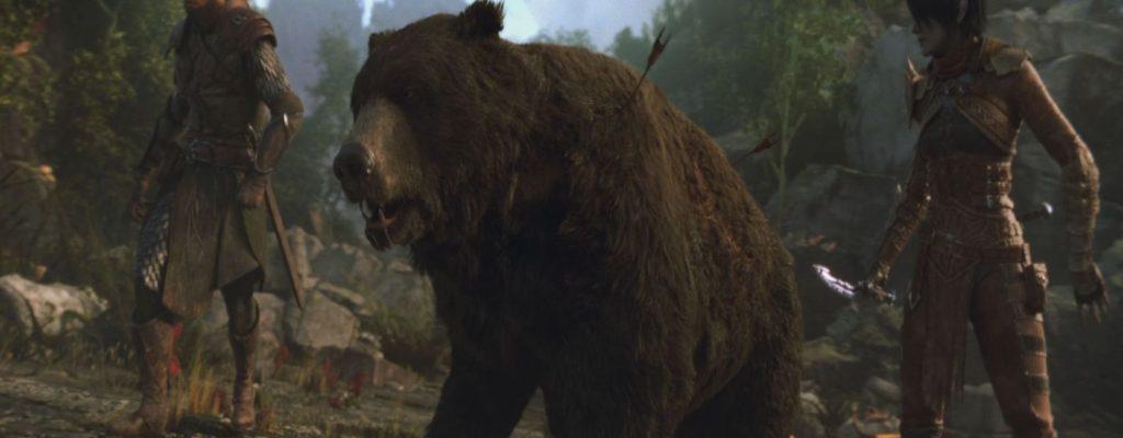 ESO Morrowind: Bärtastsich! Hüter-Gameplay-Trailer mit vielen Bären!
