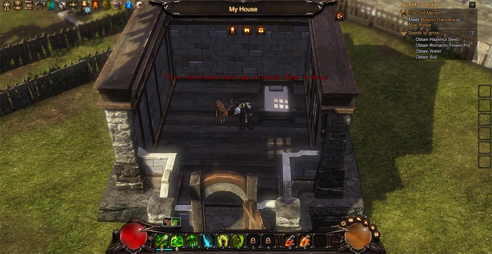 Guardians of Ember Haus einrichten