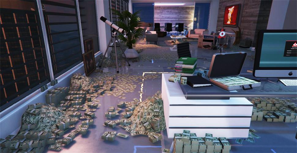 GTA 5 Online Geld Titel