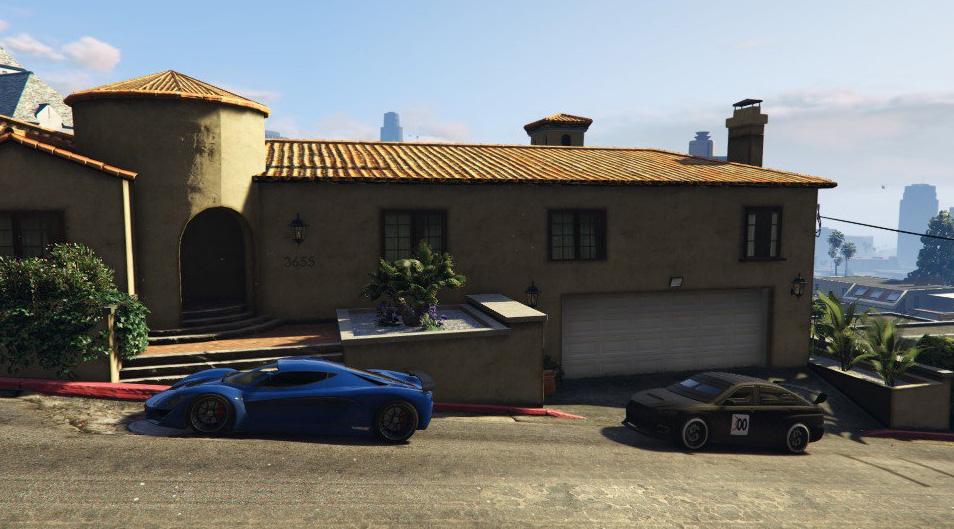 GTA 5 Online Haus zugeparkt