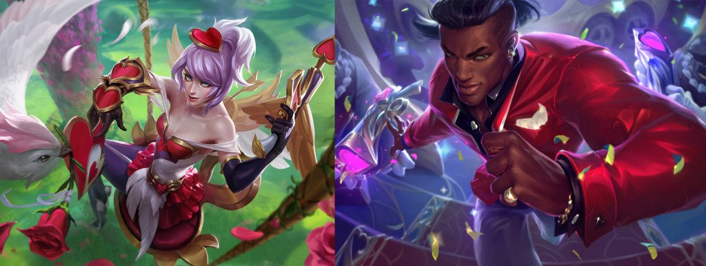 LoL Heartseeker Skins