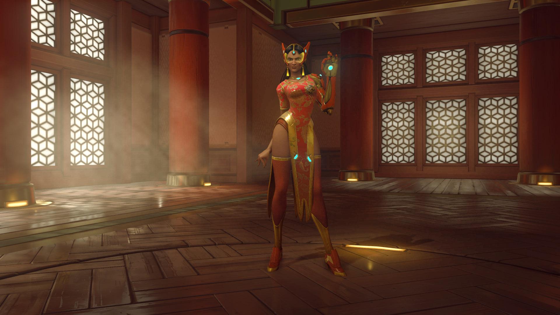 Overwatch Symmetra Skin Qipao