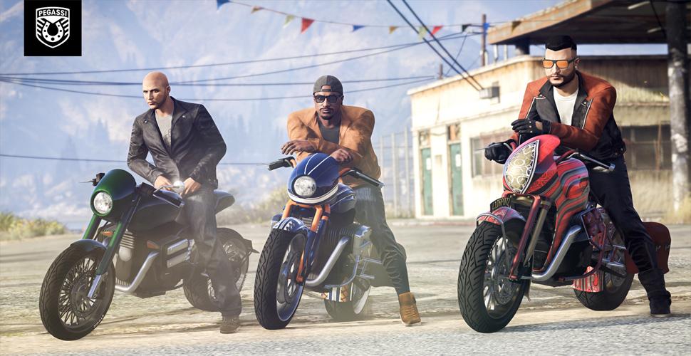 GTA Motorrad Titel
