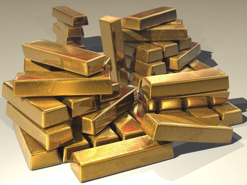 Reichtum-Gold