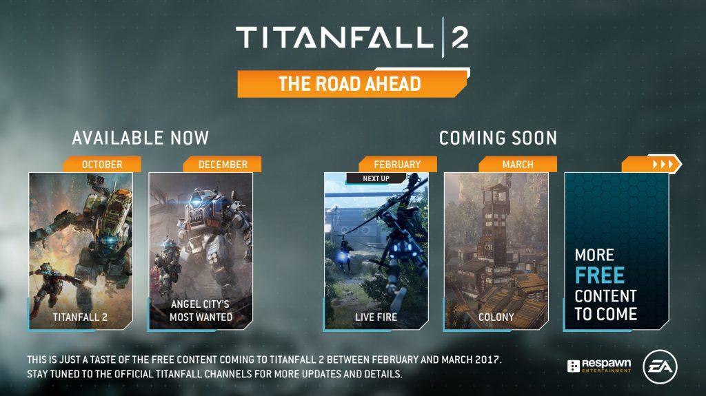 Titanfall 2 Roadmap