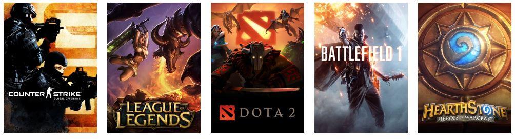 Twitch Peak Top 5
