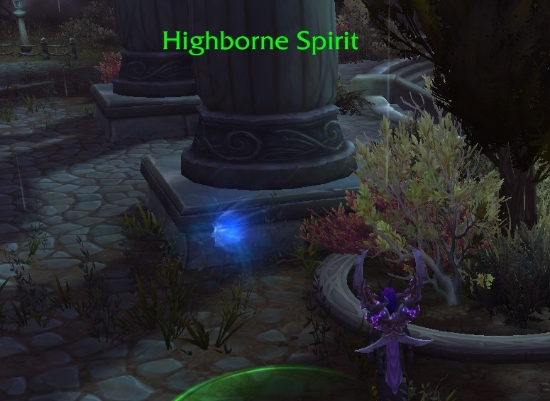 WoW Archaeology 72 Highborne Spirit