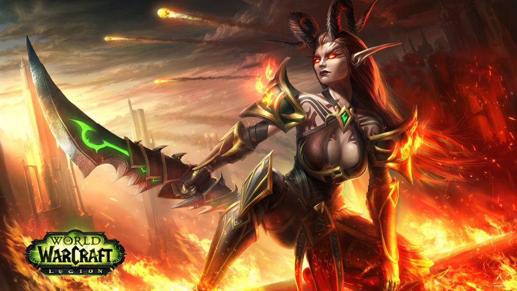 WoW Fanart Demon Hunter