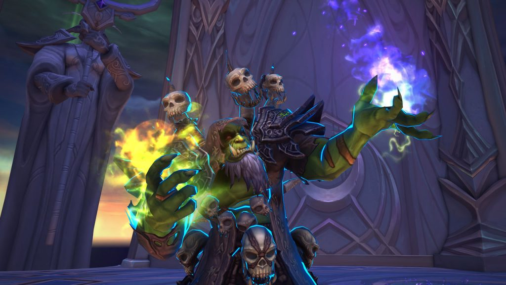 WoW Nighthold Gul'dan