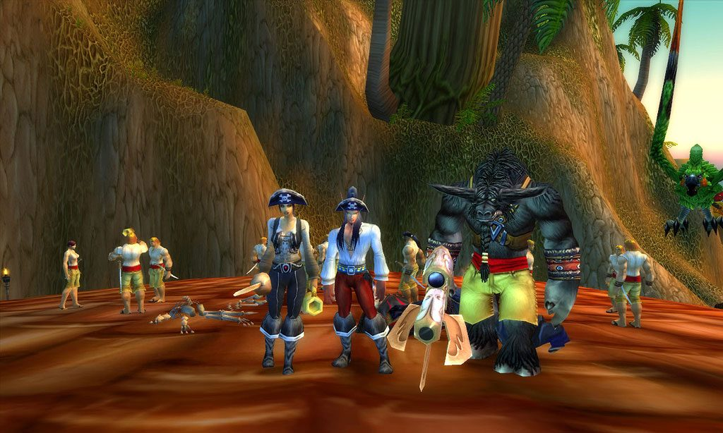 World of Warcraft Piraten Tag