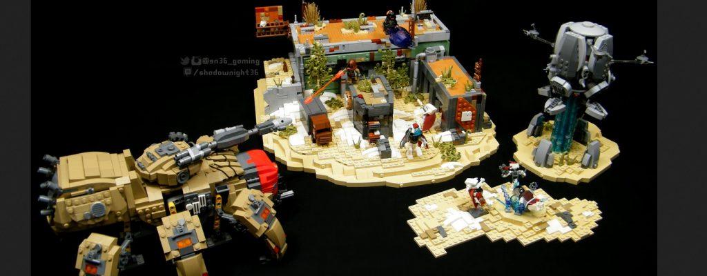 Destiny aus LEGO – Hüter baut ein Jahr lang Teile der Spielwelt nach