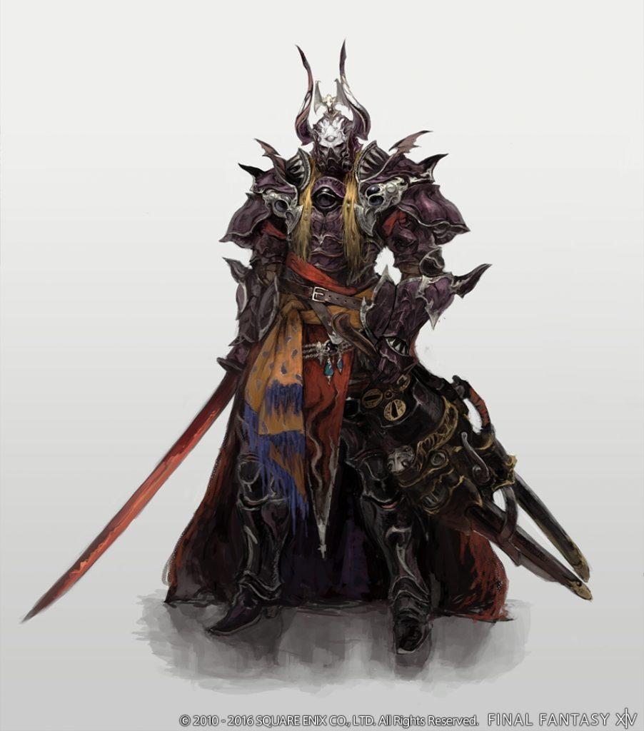 Final Fantasy 14 Zenos