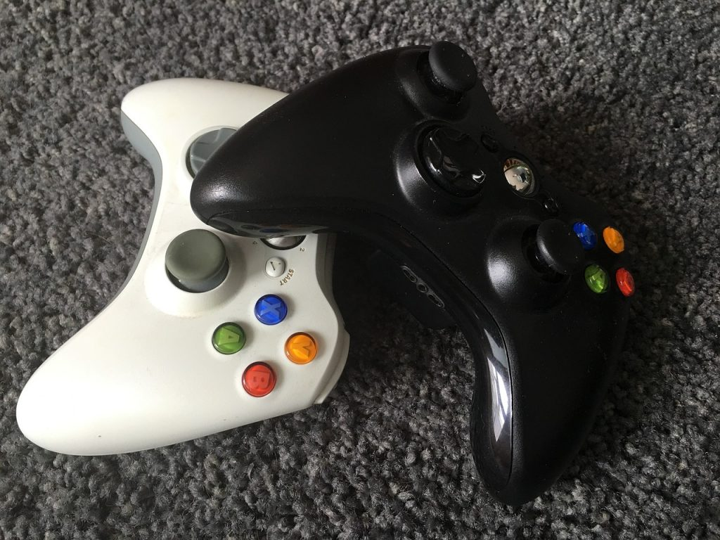 gaming controller xbox playstation