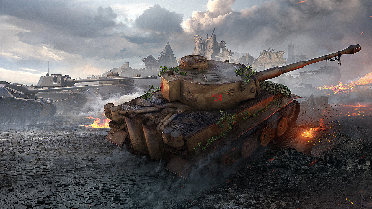 world of tanks tiger131
