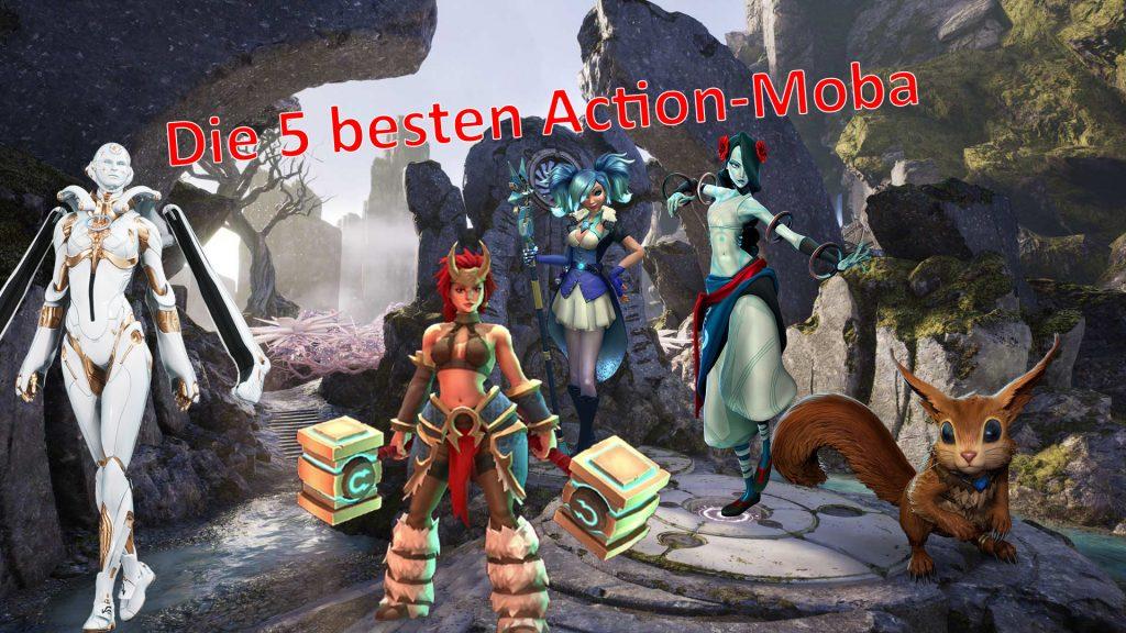 5 beste action moba titel