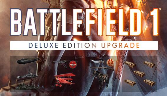 Battlefield 1 Deluxe Edition Inhalte