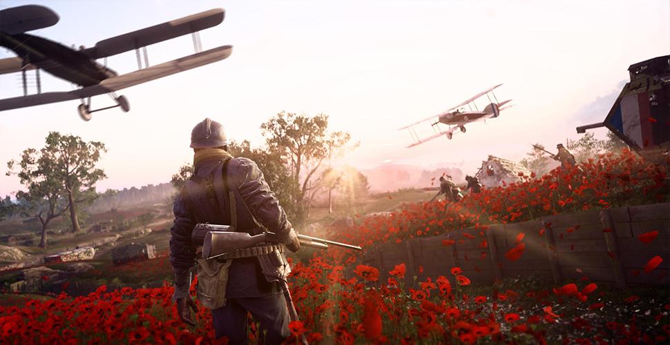 Battlefield 1 Soldat Titel Feld Waffe