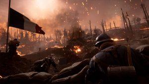 Battlefield 1 They Shall not Pass Schlachtfeld Feuer Soldaten