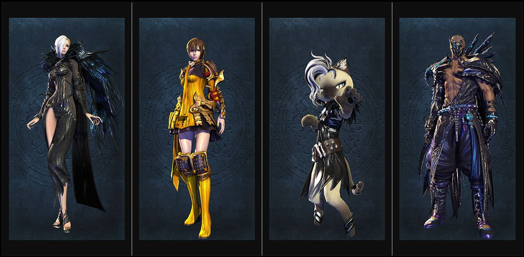 Blade and Soul Rabenkostueme