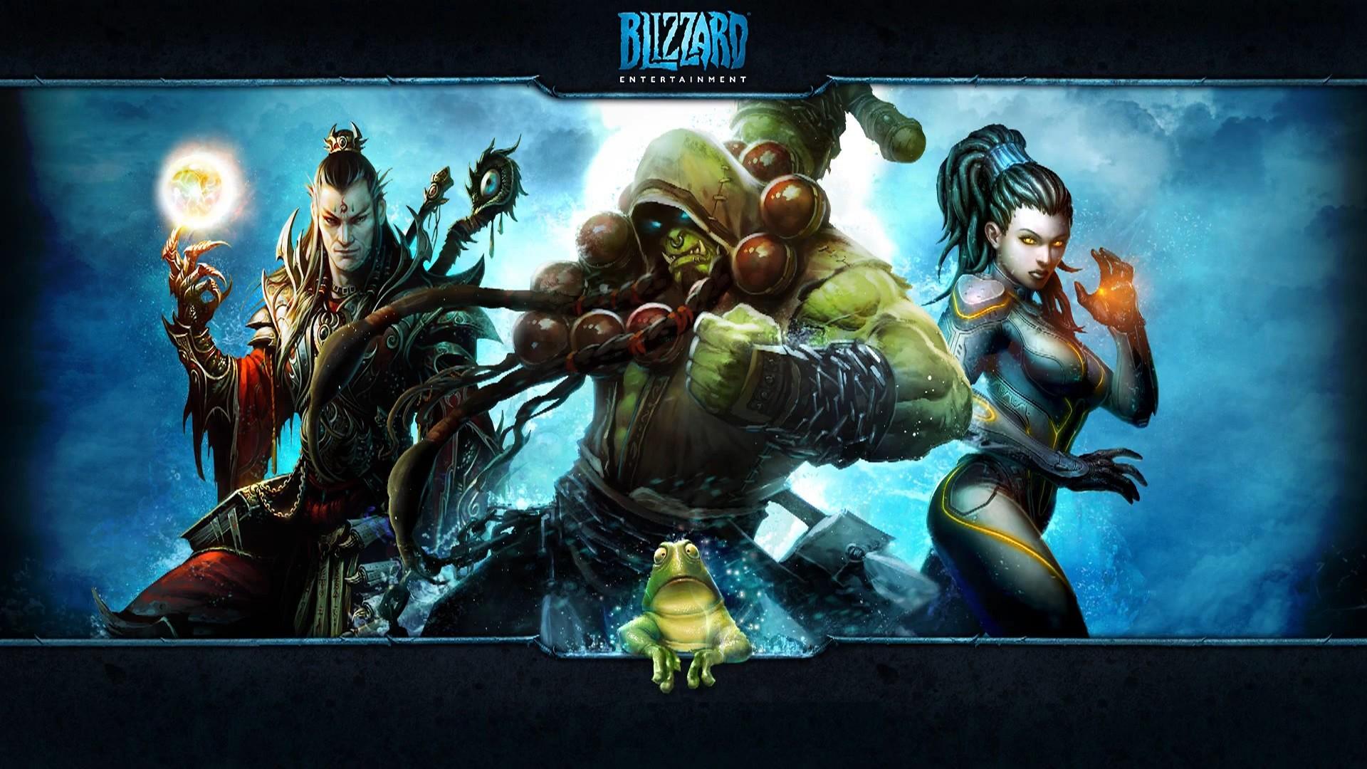 Blizzard Thrall Kerrigan Header
