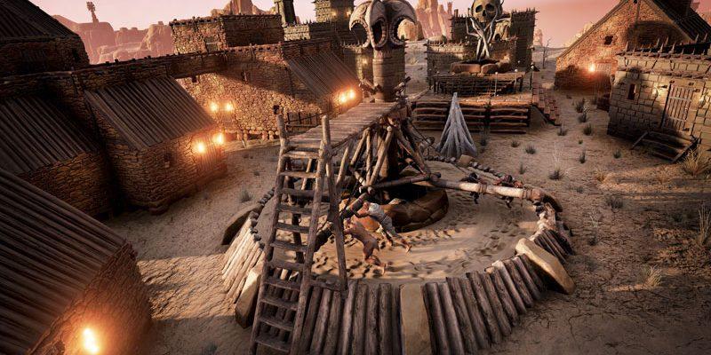 Conan Exiles: Eselkarren und Handel! Survival-MMO meets Black Desert