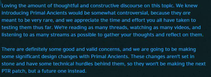 Diablo 3 Blizzard Feedback Archaisch