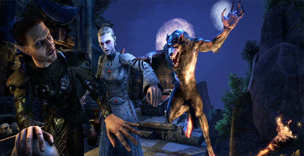 elder scrolls xbox one how to become a werewolf