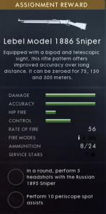 Battlefield 1 CTE Lebel