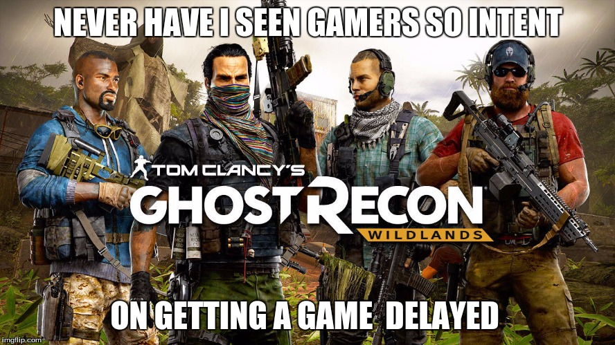 Ghost Recon Releas Delay