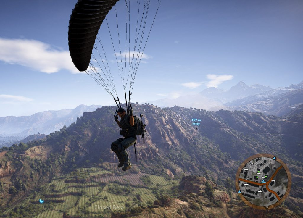 Ghost Recon Wildlands Fallschirm 2