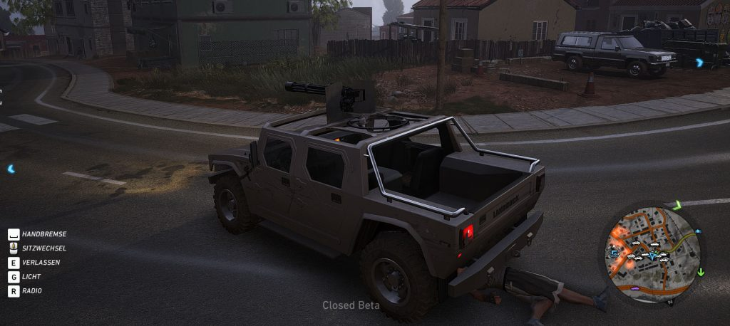 Ghost Recon Wildlands Hummer Gatling