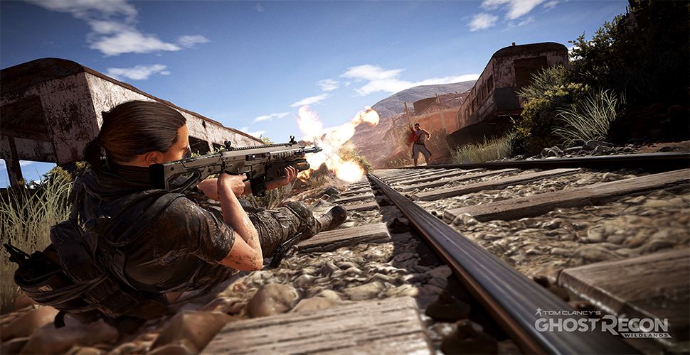 Ghost Recon Wildlands Waffe Schienen Titel
