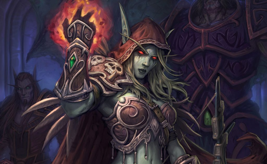 Hearthstone Sylvanas Full Art