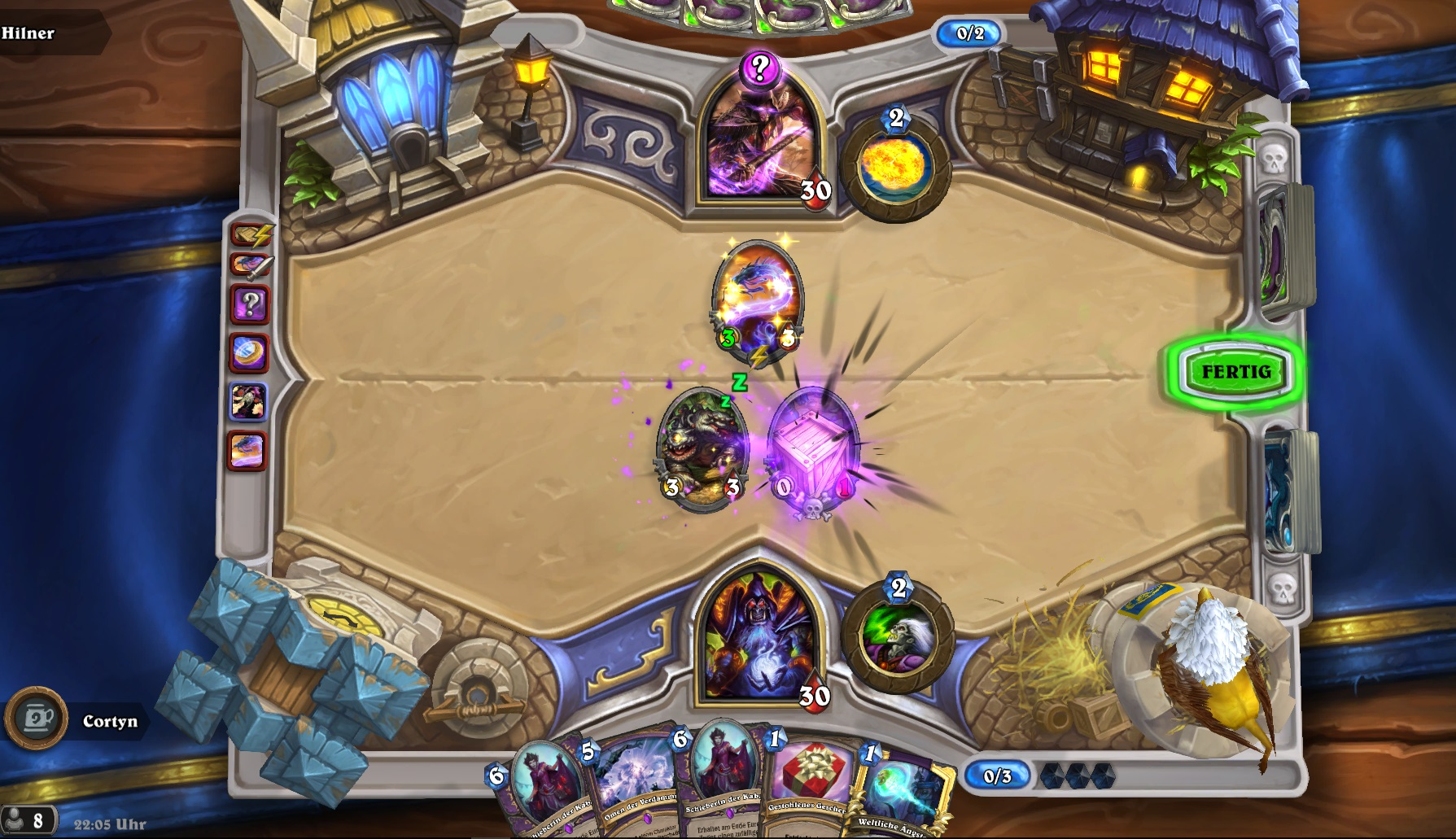 Hearthstone Tavern Brawl Winter Veil Gameplay