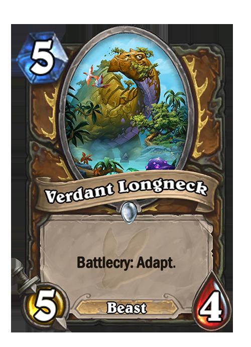 Hearthstone Verdant Longneck Card